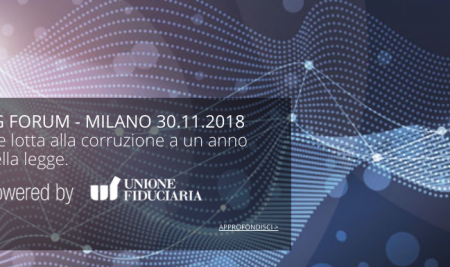 WHISTLEBLOWING FORUM – Milano 30 novembre 2018